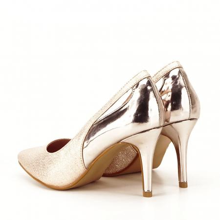 Pantofi champagne eleganti Melania [2]