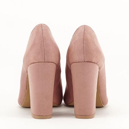 Pantofi cu toc nude Leila6