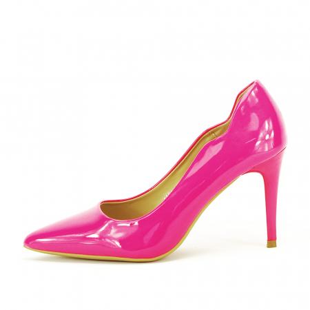 Pantofi fuxia lacuiti Tiffany0