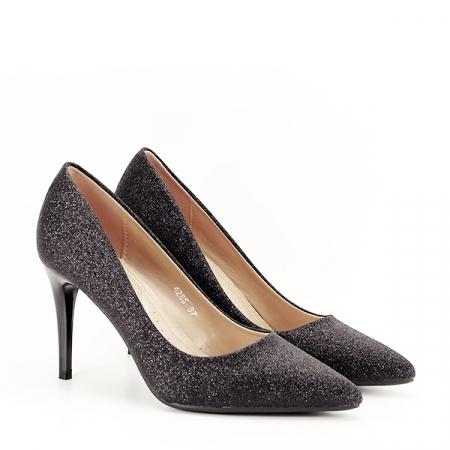 Pantofi eleganti negri Claudia [2]