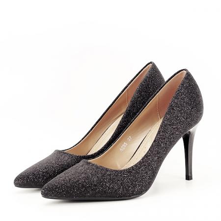 Pantofi eleganti negri Claudia [1]