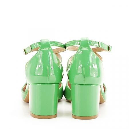 Pantofi eleganti verzi Lola [5]