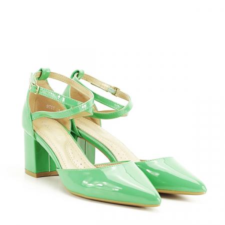 Pantofi eleganti verzi Lola [2]