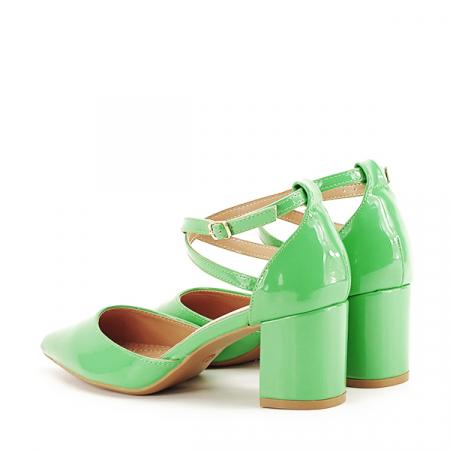 Pantofi eleganti verzi Lola [3]