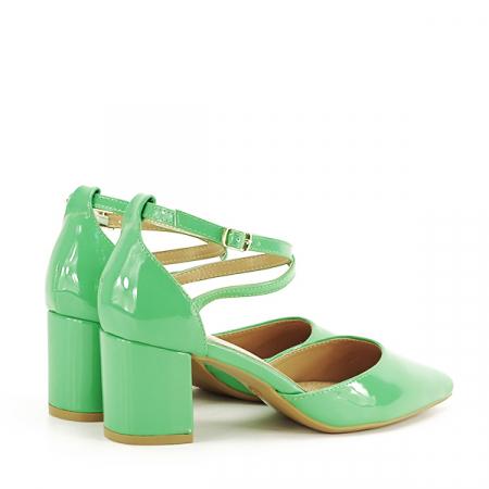 Pantofi eleganti verzi Lola [4]