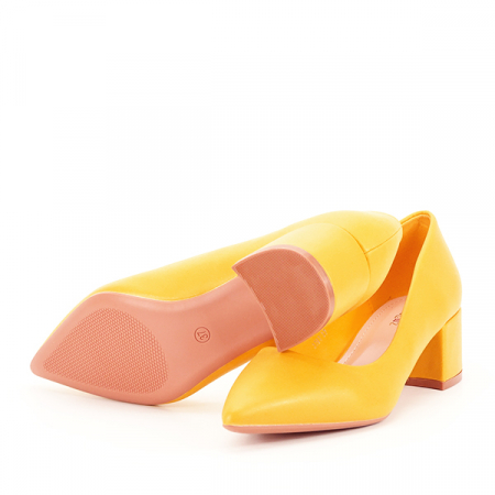 Pantofi galbeni Anita [7]