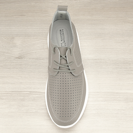 Pantofi piele naturala gri Angela [6]