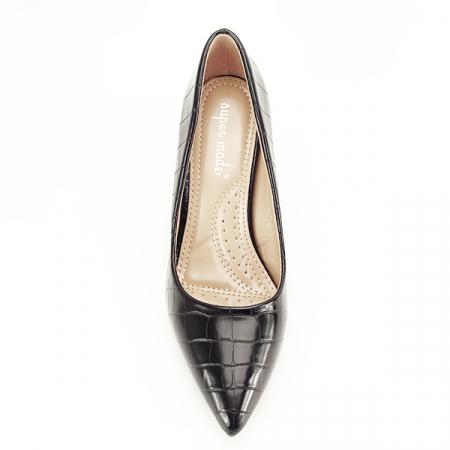 Pantofi negri cu imprimeu Dalma 2 [6]