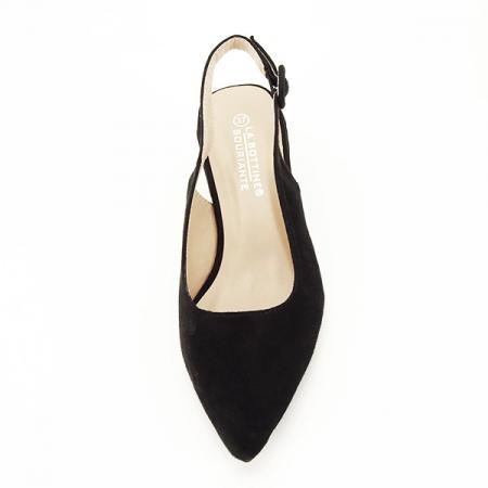 Pantofi negri cu toc mic Simina [6]