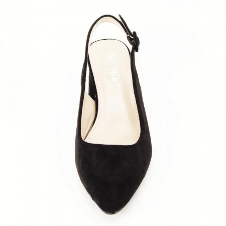 Pantofi negri decupati Cassie7
