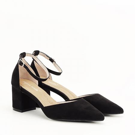 Pantofi negri eleganti Larisa [2]