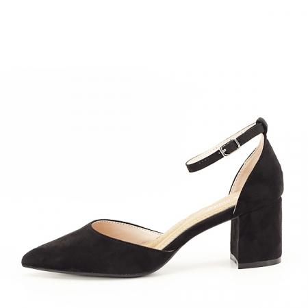 Pantofi negri eleganti Larisa [1]