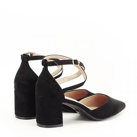 Pantofi negri eleganti Petra [4]