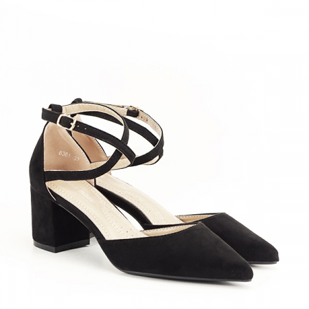 Pantofi negri eleganti Petra [2]