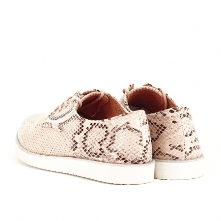 Pantofi oxford bej Patricia [4]