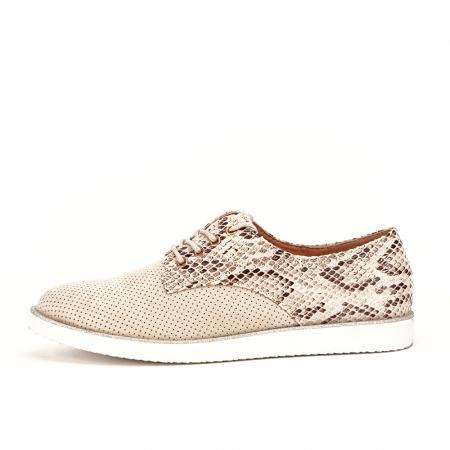 Pantofi oxford bej Patricia [0]