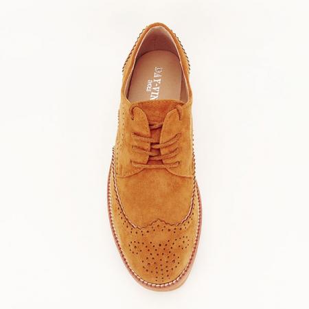 Pantofi oxford camel Dalia [1]