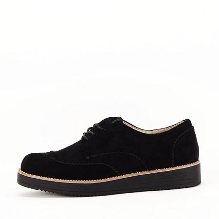Pantofi oxford negri Dalia0