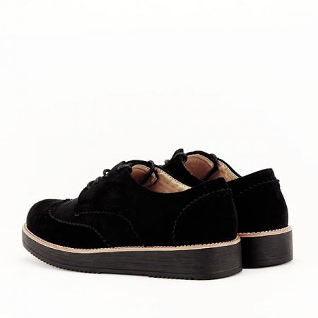 Pantofi oxford negri Dalia5