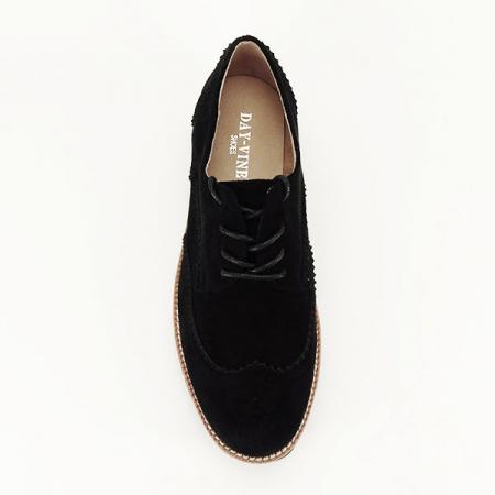 Pantofi oxford negri Dalia1