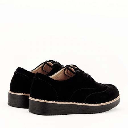Pantofi oxford negri Dalia4