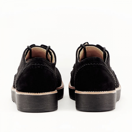 Pantofi oxford negri Dalia6