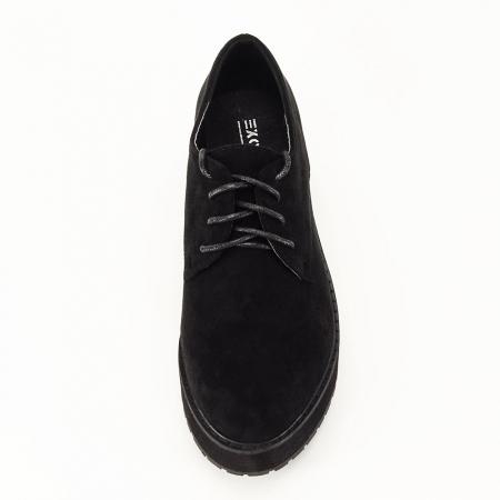 Pantofi oxford negri Miruna [3]