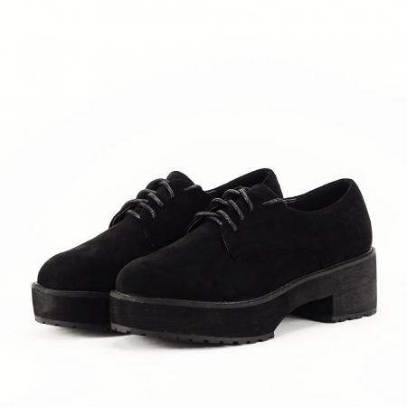 Pantofi oxford negri Miruna [1]