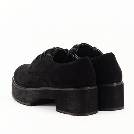 Pantofi oxford negri Miruna [2]