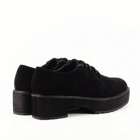 Pantofi oxford negri Miruna [6]