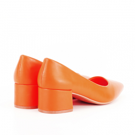 Pantofi portocalii Anita7