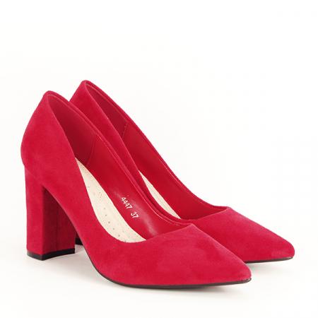 Pantofi rosii Britney [3]