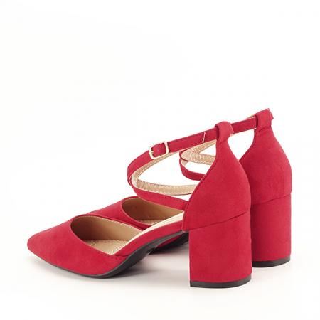 Pantofi rosii eleganti Petra [3]