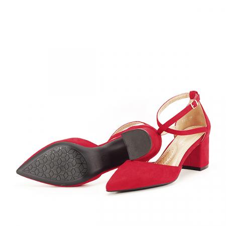 Pantofi rosii eleganti Petra [7]