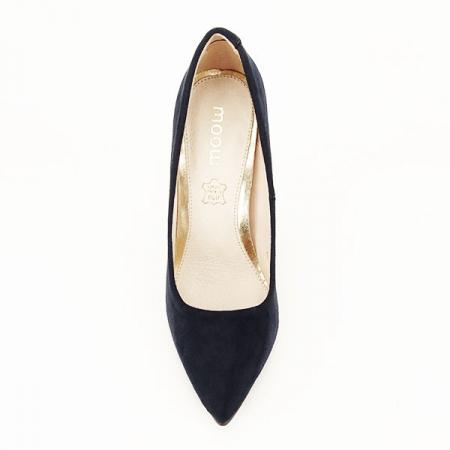 Pantofi stiletto bleumarin Grace3