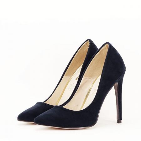 Pantofi stiletto bleumarin Grace0