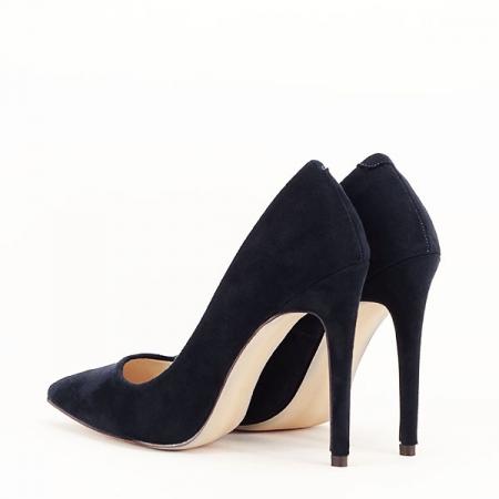 Pantofi stiletto bleumarin Grace6