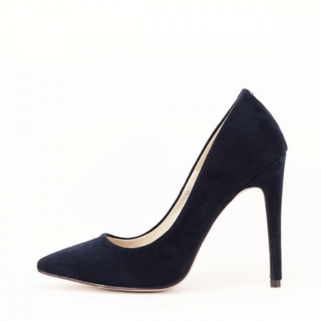Pantofi stiletto bleumarin Grace1