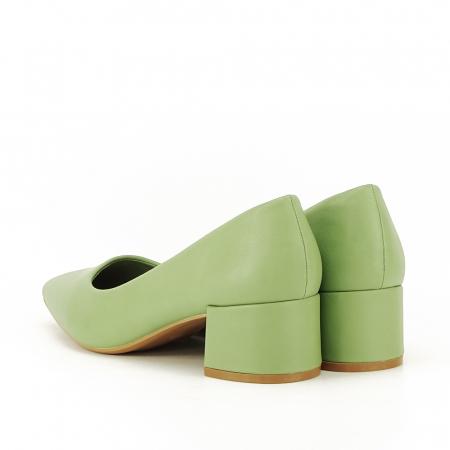Pantofi verde fistic Anita5