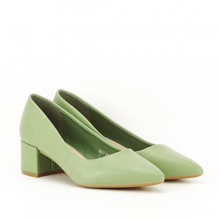 Pantofi verde fistic Anita4