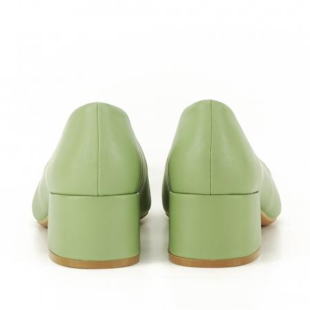 Pantofi verde fistic Anita3