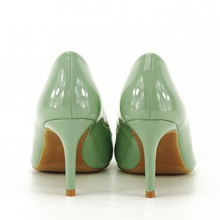 Pantofi verde fistic de lac Alma3