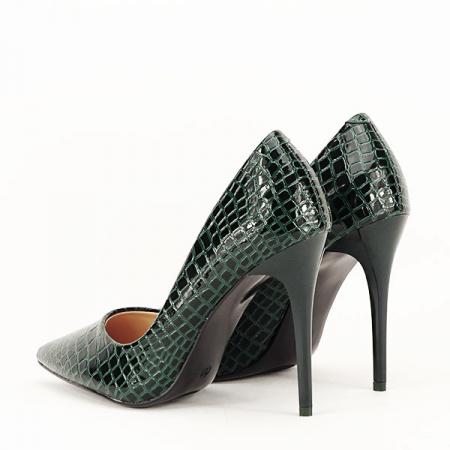 Pantofi verzi cu imprimeu Alice [4]