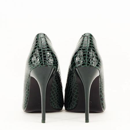 Pantofi verzi cu imprimeu Alice [6]