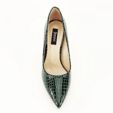 Pantofi verzi cu imprimeu Alice [1]