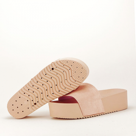 Papuci roz pal cu platforma Mery4