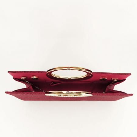 Plic rosu inchis cu sclipici Erica [4]