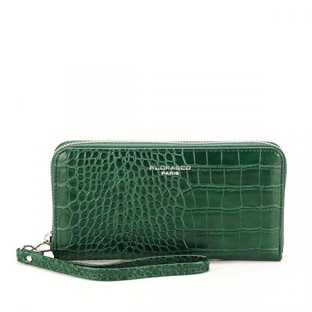 Portofel verde inchis cu imprimeu Dorothy [5]