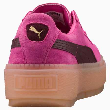 Puma Pantofi sport Casual Femei Puma Platform Trace Block Wn's din piele intoarsa4