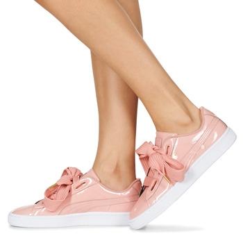 Puma Pantofi sport Casual Femei BASKET HEART PATENT W'S6